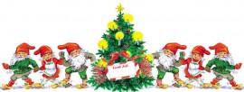 Julomslagspapper och tillbehör