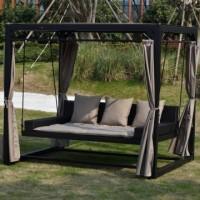 Trädgårdsmöbler och inne möbler