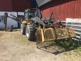 Traktorgrävare hydrema 807