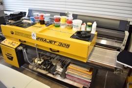 Avyttring av utrustning för textil/reklamtryck