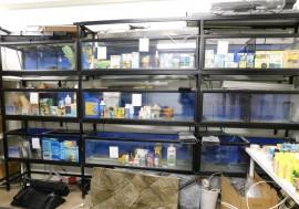 Avyttring av fiskeutrustning & akvariefiskbutik