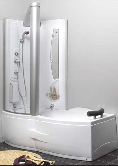 slag1 combi kabin f r b de dusch och spa bad. Black Bedroom Furniture Sets. Home Design Ideas